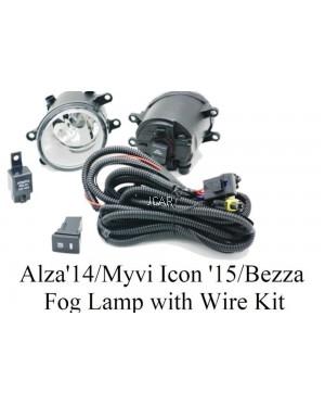 FOG LAMP - MYVI ICON '15 / ALZA '14 / BEZZA (FULL SET)