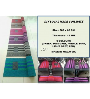 Colourful DIY Coilmate (Floor Mats)