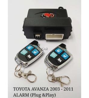 CAR ALARM - TOYOTA AVANZA