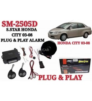 SECURITY ALARM SYSTEM - HONDA CITY 2003-2008
