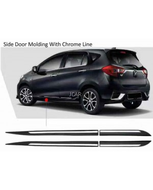 CHROME SIDE DOOR MOULDING FOR ALL NEW MYVI 2018