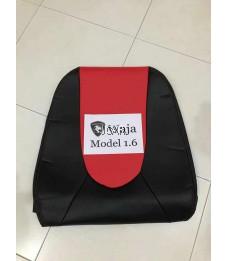 2 TONE PVC SEAT COVER - WAJA (RED)