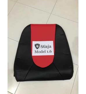 2 TONE PVC SEAT COVER - WAJA (RED)