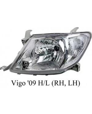 HEAD LAMP - TOYOTA HILUX VIGO 2009