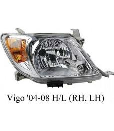 HEAD LAMP - TOYOTA HILUX VIGO 2004-2008