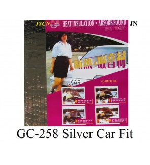 CAR FIT - GC-258 SILVER (car engine noise insulation and heat absorbing)