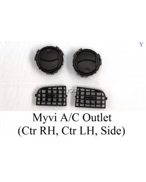 A/C OUTLET - MYVI (SIDE, CTR RH, CTR LH)