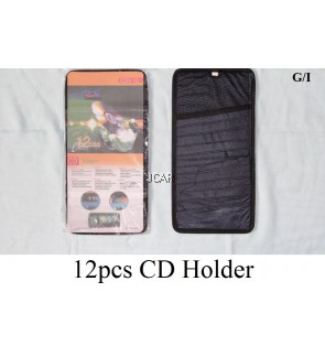 12PCS CAR VISOR CD HOLDER