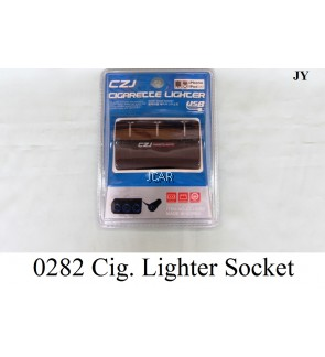 3-WAYS CIGARETTE LIGHTER SOCKET - 0282