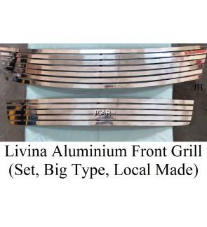 ALUMINIUM F/GRILL - LIVINA (SET)