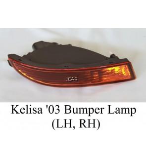 BUMPER LAMP - KELISA '03 (RH / LH; ORANGE)