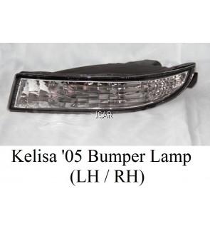 BUMPER LAMP - KELISA '05 (RH / LH ; WHITE)