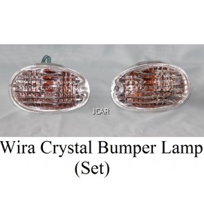 BUMPER LAMP - WIRA (CRYSTAL, SET)