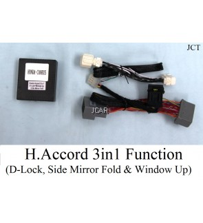 H.ACCORD 3 IN 1 - D-LOCK/ SIDE MIRROR FOLD/ WINDOW UP
