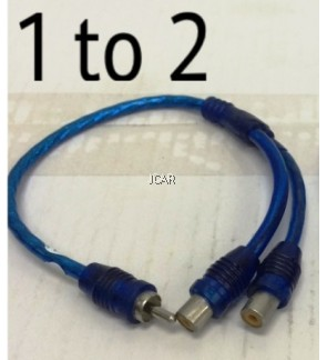 RCA CABLE - 1 TO 2 (JYCN, CHINA)