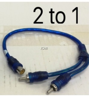 RCA CABLE - 2 TO 1 (JYCN, CHINA)