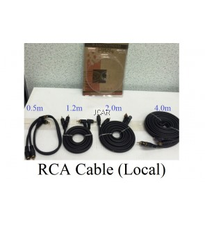 RCA CABLE - 0.5M (LOCAL)