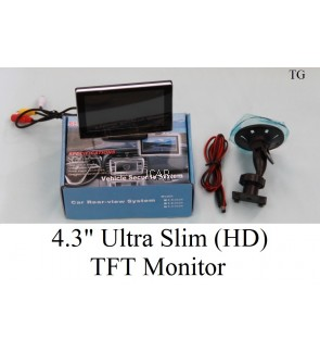 "4.3"" ULTRA SLIM (HD) TFT MONITOR"