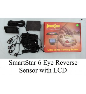 SMART STAR 6 EYES REVERSE SENSOR WITH LCD
