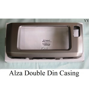 DOUBLE DIN CASING - P.ALZA (SILVER)