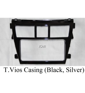 DOUBLE DIN CASING - T.VIOS '08 (BLACK)