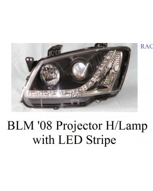 HEAD LAMP - BLM '08 PROJECTOR WITH LED