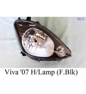 HEAD LAMP - VIVA '07 (FRAME BLACK)