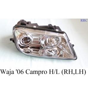 HEAD LAMP - WAJA '06 CAMPRO (RH, LH)