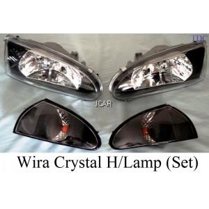 HEAD LAMP - WIRA CRYSTAL (SET)