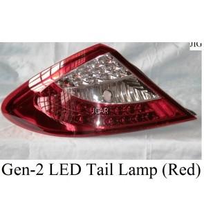 LED TAIL LAMP - GEN-2 (RED / SMOKE)
