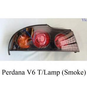 TAIL LAMP - PERDANA V6 '03 (SMOKE, SET)