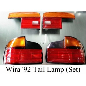 TAIL LAMP - WIRA '92 ABINO (WHITE / RED + YELLOW)