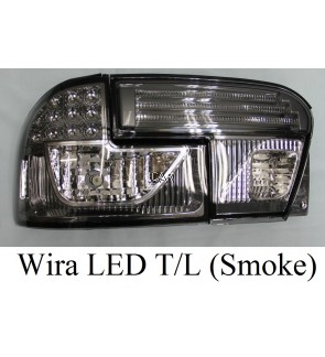 LED TAIL LAMP WITH LIGHT BAR - WIRA (RED/SMOKE)