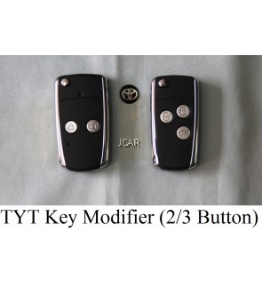 ALARM CASING - TOYOTA MODIFIER KEY (2 BUTTON / 3 BUTTON)