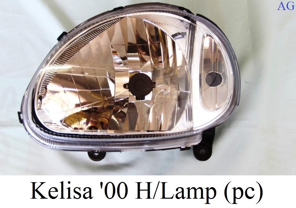 HEAD LAMP - KELISA '00 HEAD LAMP (LH,RH)